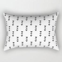 Abstract Hand Drawn Patterns No.4 Rectangular Pillow