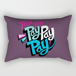 Tay-Tay Vs Apple Rectangular Pillow