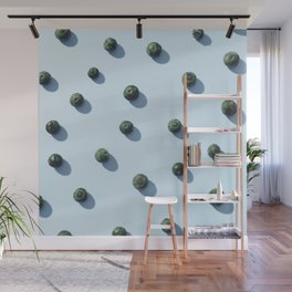 #02#Blueberries#dots#blue Wall Mural