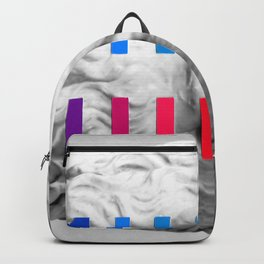 Sculpture With A Spectrum 1 Backpack