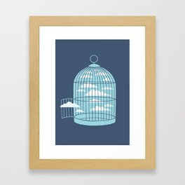 Free As a Bird Framed Art Print