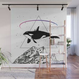 Trip to the Mountains Wall Mural