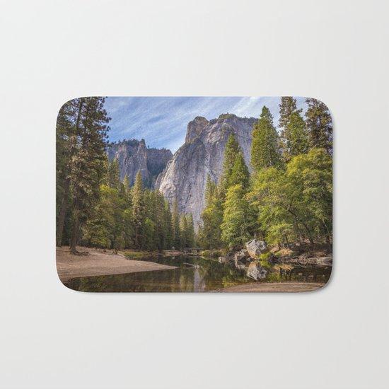 Heavenly Landscape Bath Mat