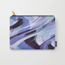 Wavy Blue Carry-All Pouch