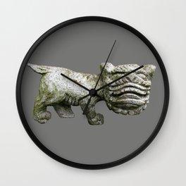 Little Stone Monster Wall Clock
