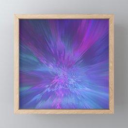Vibrant Explosion Framed Mini Art Print
