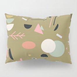 Scandinavian Summer Colorful 1 Pillow Sham