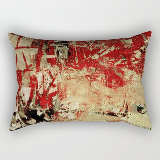 Dangerous Crossroads Rectangular Pillow