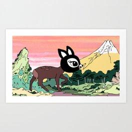 Jiyoon The Spotted Deer Art Print