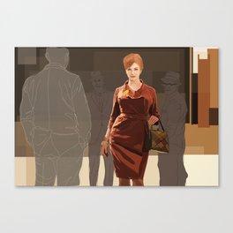 JOAN///////////////////// Canvas Print