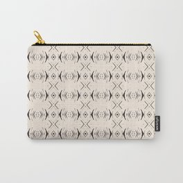 Thin Arrow Diamond African Pattern Carry-All Pouch