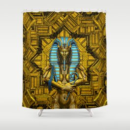 Sacred Queen Shower Curtain