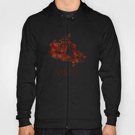 Maple Leafs Map of Canada Hoody