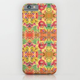 Chintz kaleidoscope iPhone Case