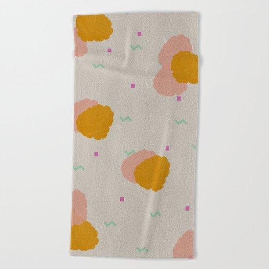 Raspberry Beach Towel