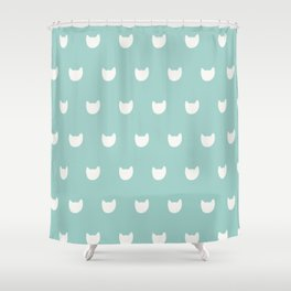 cats (3) Shower Curtain