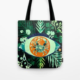 Third Eye Zodiac, Cancer Tote Bag