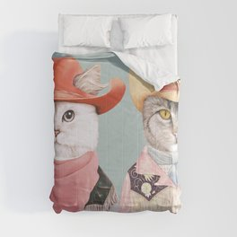 Cowboy Cats Comforters