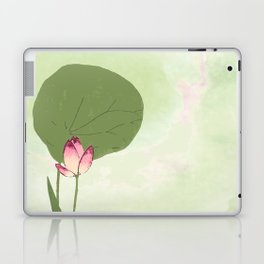 Survive like a lotus flower, rising from the muc Laptop & iPad Skin