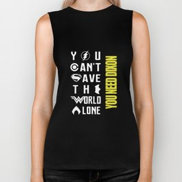 you cant have the world lone you need Dixon viking Biker Tank
