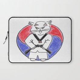 Taekwondo master cat Laptop Sleeve