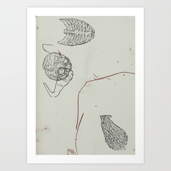 substrate Art Print