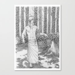 The Dead Forest Canvas Print