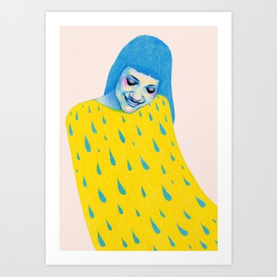 Don't forget to water yourself Art Print