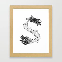 "Native Texas Plants ""S"" Framed Art Print"