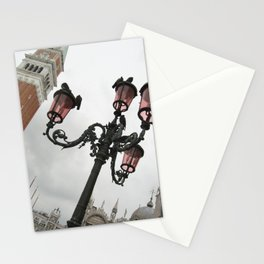 Sideways Sightline in St. Mark's Square - Venice, Italy Stationery Cards