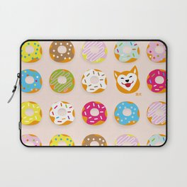 Donut Inu Laptop Sleeve