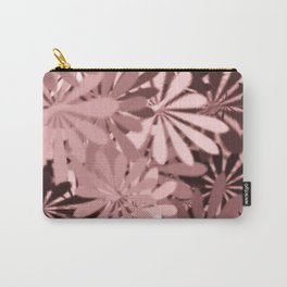 In The Tropics LIGHT PINK Carry-All Pouch