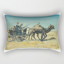 The Missionary, AUSTRALIA             by Kay Lipton Rectangular Pillow
