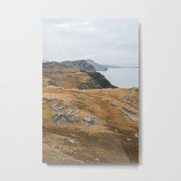 Ireland Seaside Cliffs in Slieve League Metal Print