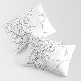 Minimal Blooming 02 Pillow Sham