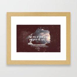 cave 01 Framed Art Print
