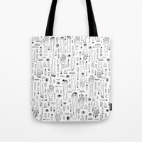 anatomy Tote Bags featuring Anatomy by Frank Turner