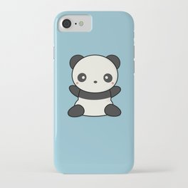 Kawai Cute Hugging Panda iPhone Case