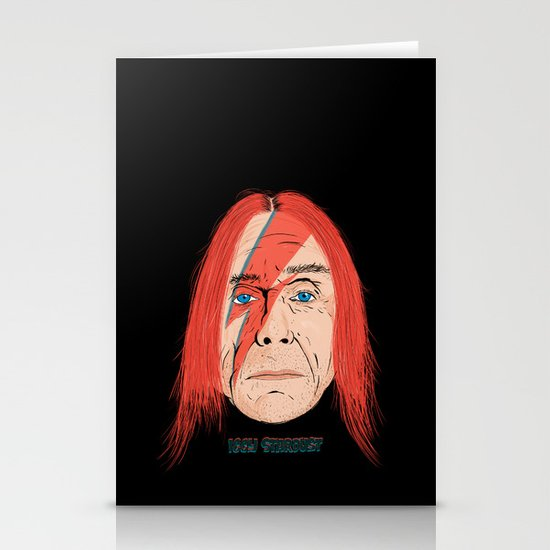 Iggy Stardust Stationery Cards