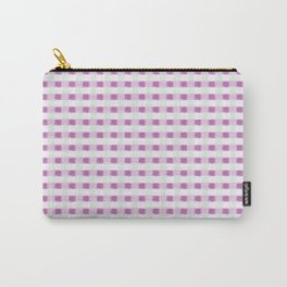 Pink Garden Houndstooth Carry-All Pouch