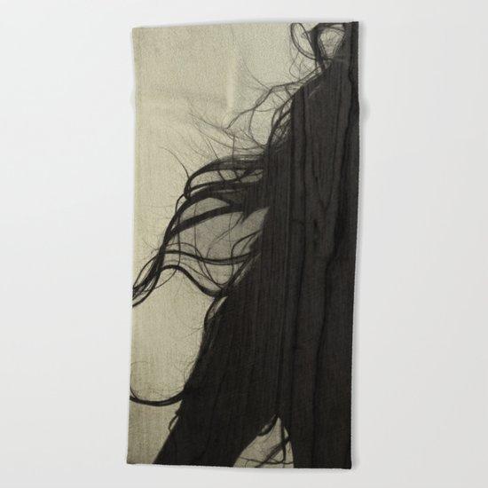 Hair 04 Beach Towel