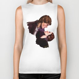Star Wars, Han & Leia The Empire Strikes Back Biker Tank