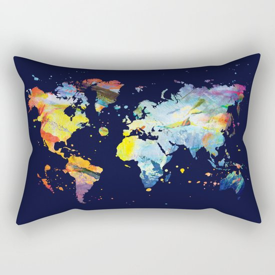 THE COLORFUL WORLD Rectangular Pillow