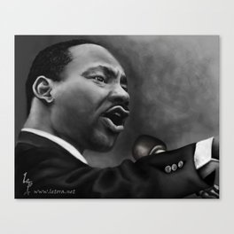 King Jr, Canvas Print