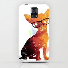 Hipster chihuahua Slim Case Galaxy S5