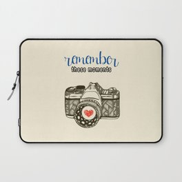 Remember These Moments! Laptop Sleeve