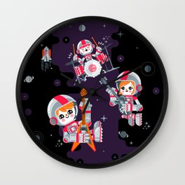 Space Rock Wall Clock