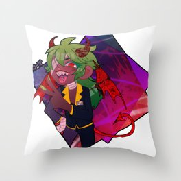 ..Or your devil Throw Pillow