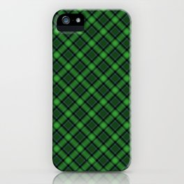 Green Scottish Fabric High Res iPhone Case