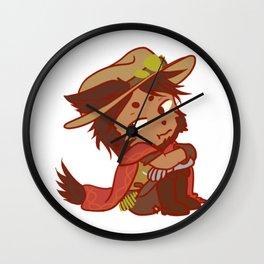 Chibi Were-McCree Wall Clock